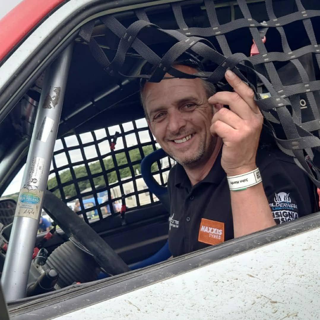 John hardy dakar rally driving