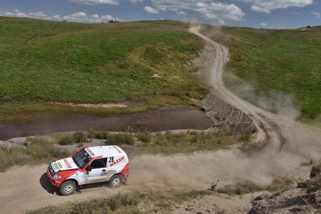 excite rally team car